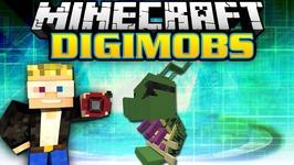 Minecraft Modded Survival - Digimobs Modded Adventures - Dokunemon Boss 5