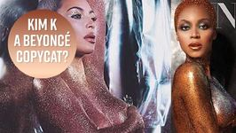 Kim K's Beauty Campaign Blatantly Copies Beyoncé