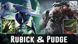 Dota 2 Pudge and Rubick Moments