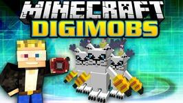 Minecraft Modded Survival - Digimobs Modded Adventures - Gatomon Hide and Seek 7