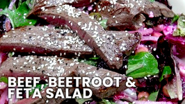 Beef With Beetroot And Feta Salad