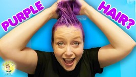 Purple Hair for Halloween!! DIY Hair Color