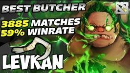 Levkan Pudge 3885 Games 59 WIN RATE - Best Butcher of Dota 2
