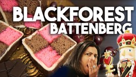 Black Forest Battenberg - Christmas Favorites