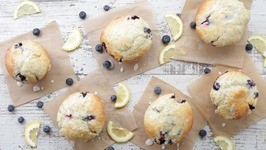 Lemon Blueberry Muffin With Chia Seeds