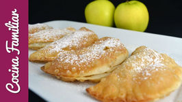 Empanadas rellenas de manzana caramelizada - Recetas de morroneo