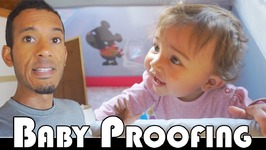 BABY PROOFING THE HOUSE - FAMILY DAILY VLOG