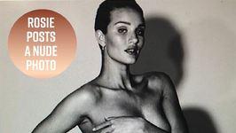 Rosie Huntington-Whiteley Celebrates Women's Day Naked