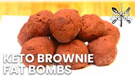 Keto Brownie Fat Bombs / No-Bake Recipe