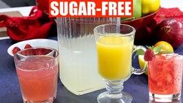Sugar-Free Keto Lemonade - Holiday Cocktails Strawberry Pink Lemonade
