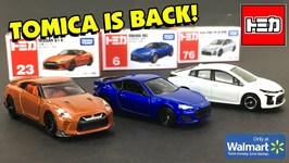 Tomica Is Back In The US - Available At Walmart