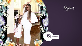 Beyonce continues to amaze with her chic maternity style