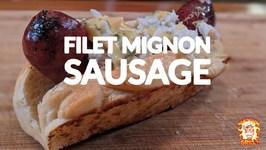 Homemade New England Style Hotdog Buns - Matador Prime Filet Mignon Sausage