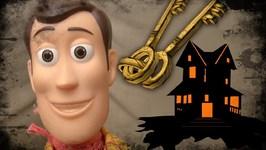 Toy Story 4 - Lost House Keys - Woody Buzz Lightyear