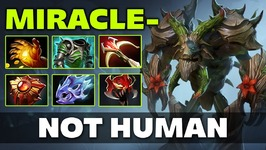 Miracle Treant HARD CARRY Dota 2