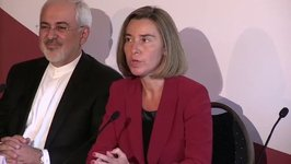 Mogherini Says EU 'Confident' US Will Stick With Iran Nuclear Deal