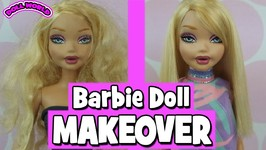 Mattel My Scene Fab Faces Kennedy Barbie Doll Makeover