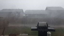 Severe Storm Blows Through Saskatchewan Town