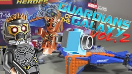 LEGO Guardians of the Galaxy Vol 2  The Milano Vs The Abilisk  Set Review 76081