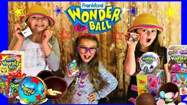 Wonder Ball Chocolate Candy Surprise Opening