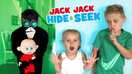 Jack Jack Hide And Seek Screenslaver Sneaks Incredibles 2 Family Game For Kids