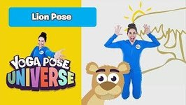 Lion Pose -Yoga Pose Universe
