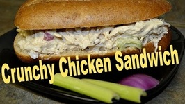 Chicken Sandwich From Leftover Chicken - Quick And Easy Recipe