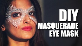 Mad Stuff With Rob - DIY Masquerade Eye Mask feat. Shalini  Knot Me Pretty
