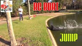 RC Boat Jump