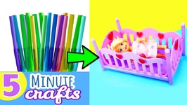 Quick Craft - How To Make A Barbie Toddler Bed