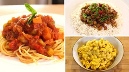 Best Slow Cooker 'Dump Dinners' / No Meat or Dairy / 3 Budget Recipes
