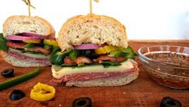 Sandwich Recipe-Classic Italian Sub
