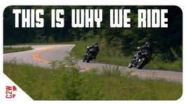 This is how we get AWAY - Cinematic Motorcycle Film