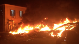 Explosion, Fire in Jaffa Levels Building, Leaves At Least 15 Injured