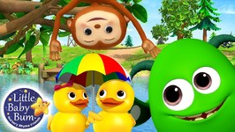 5 Little Ducks, Monkeys And Monsters - Brand New - Little Baby Bum