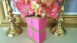 DOLLAR TREE DIVA PINK FLOWER BOX  Upcycled Soap Box
