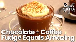 Chocolate - Coffee - Fudge Equals Amazing / Easy Dessert Recipe