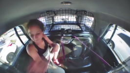 Arrested Woman Slips Off Handcuffs and Steals Police Car Before Losing Control