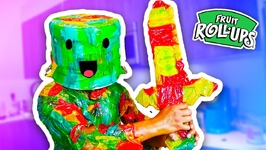 DIY How To Make FRUIT ROLL UP ARMOR