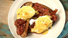 How To Make Eggs Benedict With Hollandaise Sauce -Curries and Stories with Neelam