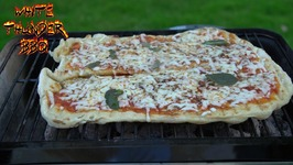 Grilled Pizza -Four Minute Tailgate Pizza