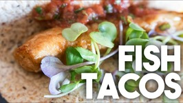 FISH TACOS - Easy Weeknight Meal QUICK Recipe