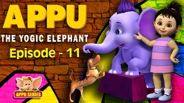 Episode 11 -  Breathe Deep, Levitate - Appu - The Yogic Elephant