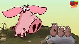 Potatoes - Piglet Series Part 3 - Cartoon Videos