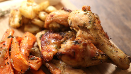Roast Chicken Recipe - Indian Style - Chicken Starter Recipe-Curries And Stories With Neelam