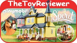 Playmobil Spirit Riding Free Lucky's Happy Home 9475 Lego Unboxing Toy Review