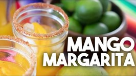 How To Make A Mango Margarita With A Tajin Salt Rim