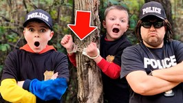 The Argument, The New Partner and The Prank- Police Kids Skit with Little Rescuers