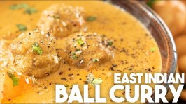 East Indian Ball Curry - Meatballs In A Fragrant Gravy