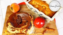 Fruit Quick Bread Recipe / Apple Or Pear - Banana - Blueberry - Peach - Any Fruit / Universal Recipe